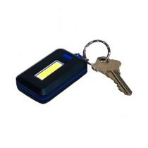 Kharedloustad Mini COB LED Keychain Flashlight Blue
