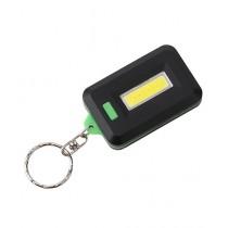 Kharedloustad Mini COB LED Keychain Flashlight Green