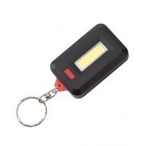 Kharedloustad Mini COB LED Keychain Flashlight Red