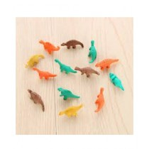 Kharedloustad Mini Cute Eraser Creative Dinosaur Eraser For Kids 7 Pcs
