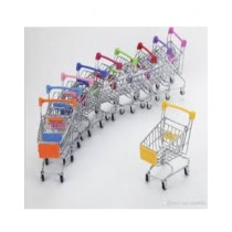 Kharedloustad Mini Handcart Shopping Utility Cart Mode Storage Toy