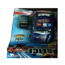 Kharedloustad Remote Control Wire Police Car Blue