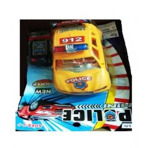 Kharedloustad Remote Control Wire Police Car Yellow