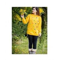 Khareed Express T-Shirt For Women Yellow (0035)