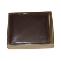 Khareed Express Leather Wallet For Men Brown (0019)