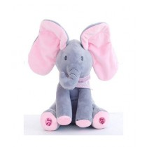 Kinder Kollection Play Music Elephant Toy - Blue