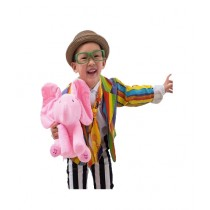 Kinder Kollection Play Music Elephant Toy - Pink