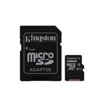 Kingston 128GB UHS-I microSDXC Memory Card With SD Adapter (SDC10G2)