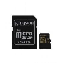 Kingston 16GB UHS-I U3 microSDHC Memory Card With SD Adapter (SDCG)
