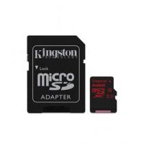 Kingston 64GB UHS-I U3 microSDXC Memory Card With SD Adapter (SDCA3)