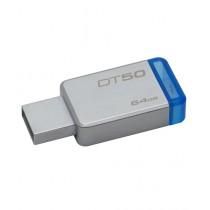 Kingston 64GB USB 3.0 Metal Flash Drive (DT50)