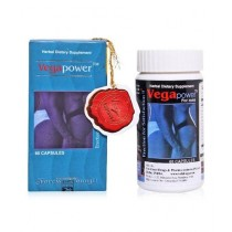 Jalandhar Traders Vega Power Male Enhancement Tablets - 60 Tabs