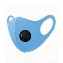Healthcare Online Anti Dust Washable Filter Fashion Mask Sky Blue