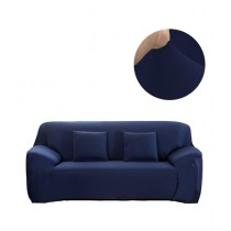 Knit that Fits 5 Seater Sofa Cover - Navy Blue