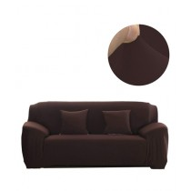 Knit that Fits 7 Seater Sofa Cover - Brown