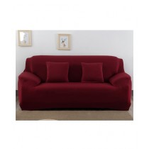 Knit that Fits 7 Seater Sofa Cover - Maroon