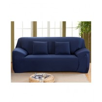 Knit that Fits 7 Seater Sofa Cover - Navy Blue