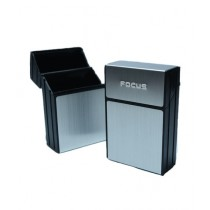 KuchB Aluminium Metal Cigarette Case Silver