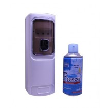 Kureshi Collections Automatic LED Sensor Air Freshener & Air Freshener 300ml Bottle Purple