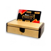 Kureshi Collections Wooden Stationery Box Stand Brown (OS2007)
