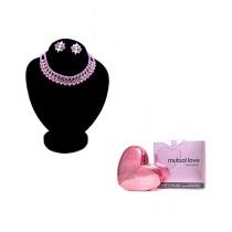 Kureshi Collections Jewellery Set with Mutual Love Perfume