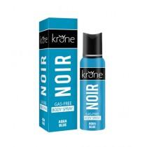 Kureshi Collections Krone Noir Aqua Blue Body Spray 125ml