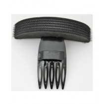 Kureshi Collections Pompadonr Base Hair Shaping Clip Comb - Black