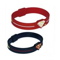 Kureshi Collections Superman Bracelets For Men Multicolor - Pack of 2