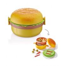 Qlux Hamburger Lunch Box (L-00562)