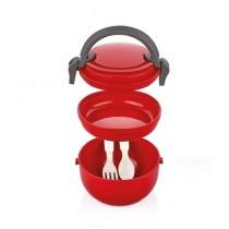 Qlux Joy Lunch Box Red (L-00691)