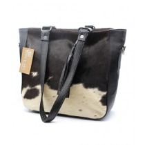 Uroosa Cow Hide Ladies Bag Multicolor (002)