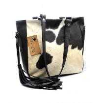 Uroosa Cow Hide Ladies Bag Multicolor (003)
