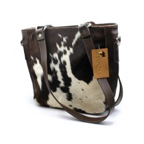 Uroosa Cow Hide Ladies Bag Multicolor (005)
