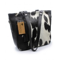 Uroosa Cow Hide Ladies Bag Multicolor (006)