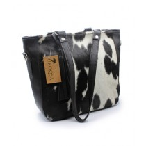Uroosa Cow Hide Ladies Bag Multicolor (007)
