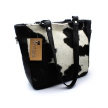 Uroosa Cow Hide Ladies Bag Multicolor (010)