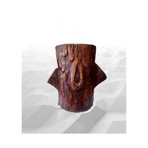 Leaf Gardening Fiber Wood Pot