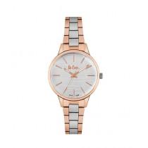 Lee Cooper Quartz Women's Watch Rose Gold/Silver (LC06795.530)