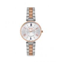 Lee Cooper Quartz Women's Watch Rose Gold/Silver (LC06824.530)