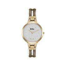 Lee Cooper Quartz Women's Watch Yellow Gold (LC06748.130)