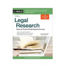 Legal Research How to Find & Understand the Law Book 17th Edition