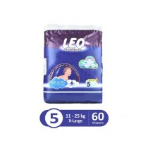 Leo Blue Baby Diaper X-Large 11-25 KG Pack Of 60
