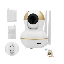 Link Corporation Home & Office Wireless Video Security Camera Alarm Kit