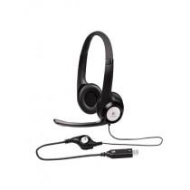 Logitech USB Headset Black (H390)