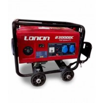 Loncin Petrol & Gas Generator with Battery & Gas Kit - 1.5 kW (LC2300DDC)