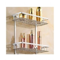 LSK Royal 2 Layer Aluminium Shelf