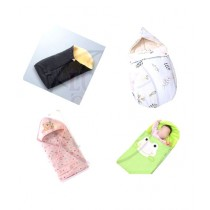 Lucky Quilts 3 in 1 Baby Cotton Sleeping Bag