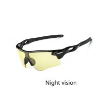 Luxurify Night Vision Outdoor Sport Mountain Bicycle Glasses (0115)