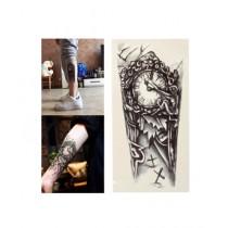 M.Mart 3D Chest Clock Temporary Tattoos