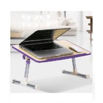 M.Mart Laptop Desk Purple